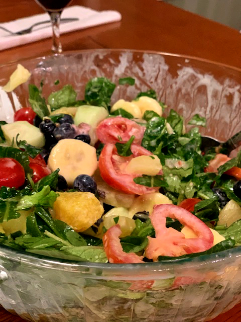 Image of Tropical Dessert Salad