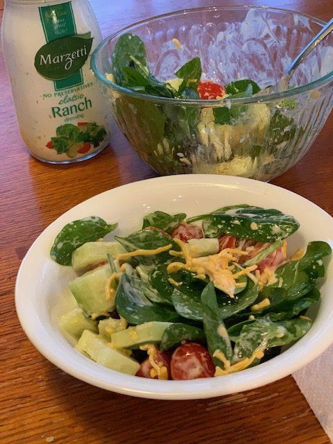 Image of Cucumber-tomato salad